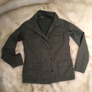 Urban Outfitters Olive Green Army Jacket